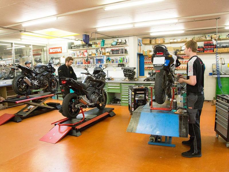 Werkstatt von Arb Bike