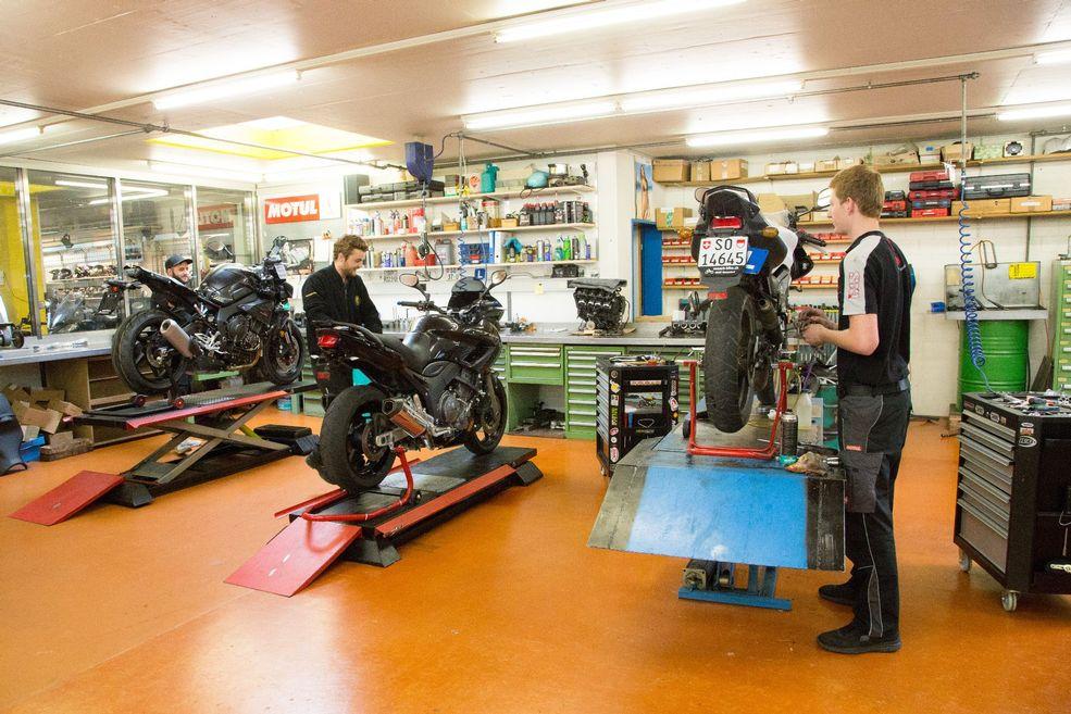 von Arb Bike AG Neuendorf - Werkstatt